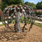 Mulberry tree sculpture